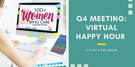 100 Women Who Care, SNV - Q4 Virtual Happy Hour tickets