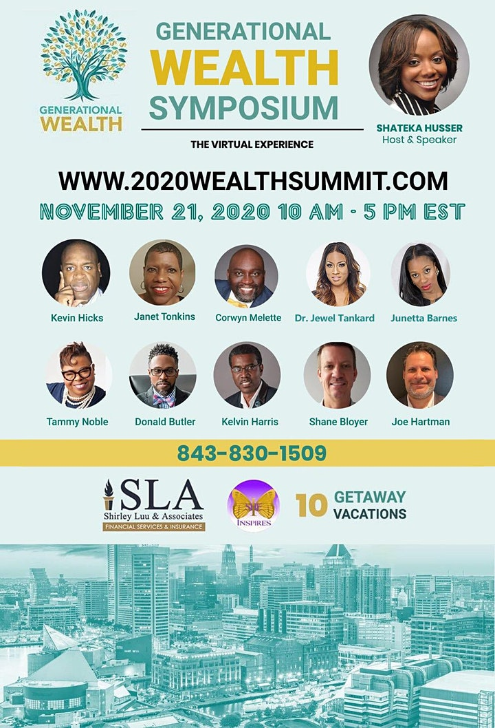 GENERATIONAL WEALTH SYMPOSIUM-The Virtual Experience image