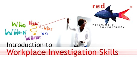 An Introduction to Workplace Investigation Skills tickets