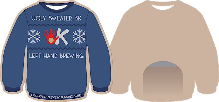 Ugly Sweater Virtual 5k - Left Hand Brewing | CO Brewery Running Series image