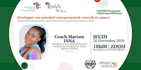 Développer son potentiel entrepreneurial :  conseils et astuces billets