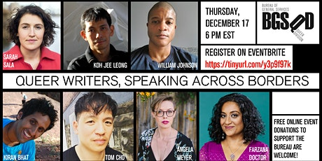 QUEER WRITERS, SPEAKING ACROSS BORDERS tickets