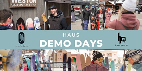 Gravity Haus x Weston, Never Summer, Icelantic Demo Day tickets