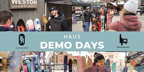 Gravity Haus x Weston & Faction Demo Day tickets
