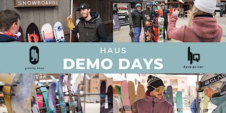 Gravity Haus x Weston Demo Day tickets