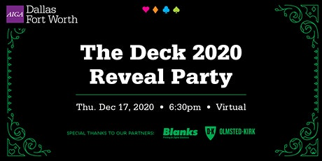 The Deck 2020 Reveal Party