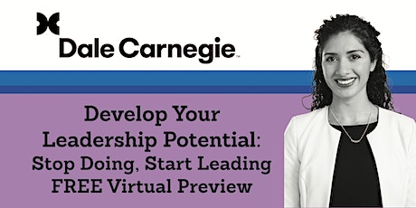 Develop Your Leadership Potential: Stop Doing, Start Leading – Free Preview tickets