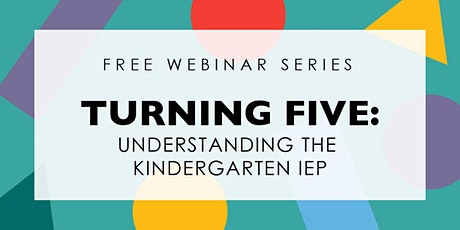 Turning 5: Understanding the Kindergarten IEP tickets