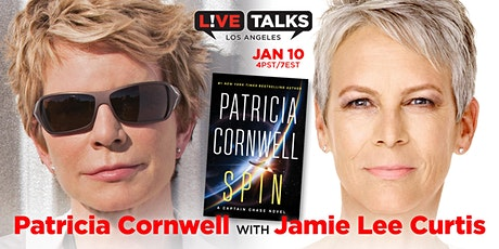 Patricia Cornwell in conversation with Jame Lee Curtis tickets