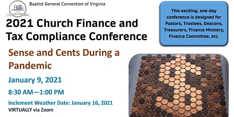 2021 Church Finance and Tax Compliance Conference tickets