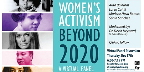 Women's Activism Beyond 2020: A Virtual Panel Discussion tickets