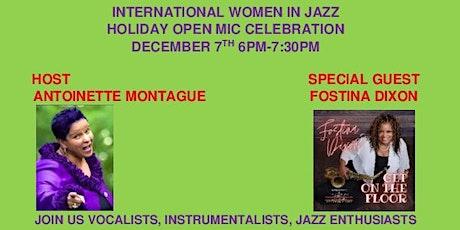 International Women in Jazz Holiday Open Mic tickets