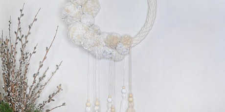 Pom Pom Wreath Workshop with Eco Materials tickets