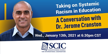 Taking on Systemic Racism in Education with Dr. Jerome Cranston tickets