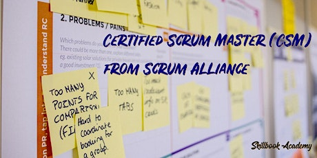 CSM®- Apr 17/18-Canada Eastern: Certified ScrumMaster® from Scrum Alliance® tickets