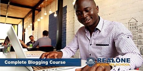 The Complete Blogging Course tickets