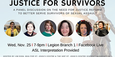 Justice for Survivors: How can the Justice System Better Serve Victims tickets