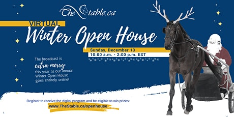TheStable.ca 2020 Virtual Winter Open House tickets