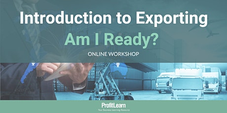 Introduction to Exporting (Online Workshop) tickets