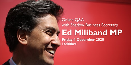 East Midlands Labour Business Connect -  Q&A with the Rt Hon Ed Miliband MP tickets