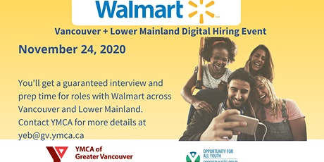 Walmart Digital Hiring Event tickets