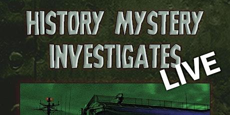 USS Hornet History Mystery Investigates LIVE- Fundraiser tickets