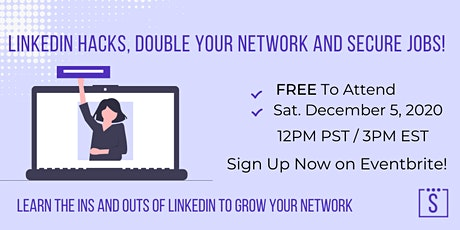 Linked In Hacks, Double Your Network and Secure Jobs! tickets