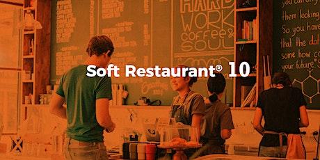 Lleva el control total de tu restaurante con Soft Restaurant® 10 boletos