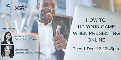 How to UP your game when presenting online tickets