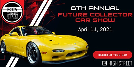6th Annual Future Collector Car Show tickets