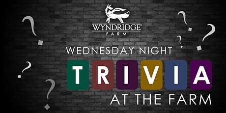 Wednesday Night Trivia at The Farm tickets