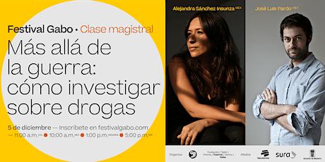 Festival Gabo Nº 8: Más allá de la guerra: cómo investigar sobre drogas entradas