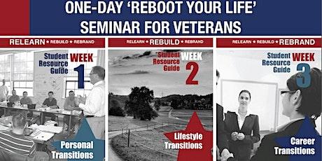 REBOOT Your Life Seminar - Online/Virtual billets