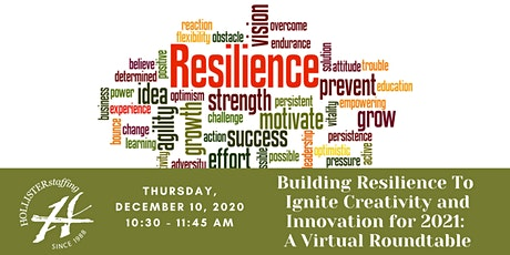 Building Resilience To Ignite Creativity and Innovation for 2021 tickets