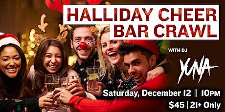 Halliday Cheer Bar Crawl at Legacy Hall