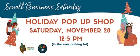 Free COVID-19 Testing + Small Business Saturday Pop Up Shop | Leimert Park tickets