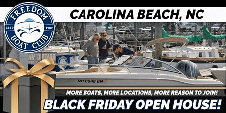Freedom Boat Club Wilmington | 3 DAY Black Friday Sale! tickets
