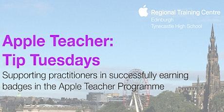 Apple Teacher: Tip Tuesday tickets