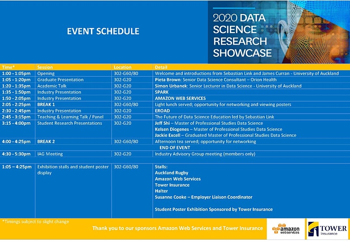 2020 Data Science Research Showcase image