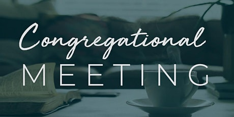 12:30 pm Congregational Meeting tickets