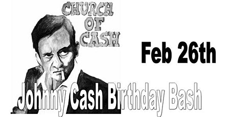Church of Cash (Johnny Cash Birthday Tribute ) with the Vincents tickets