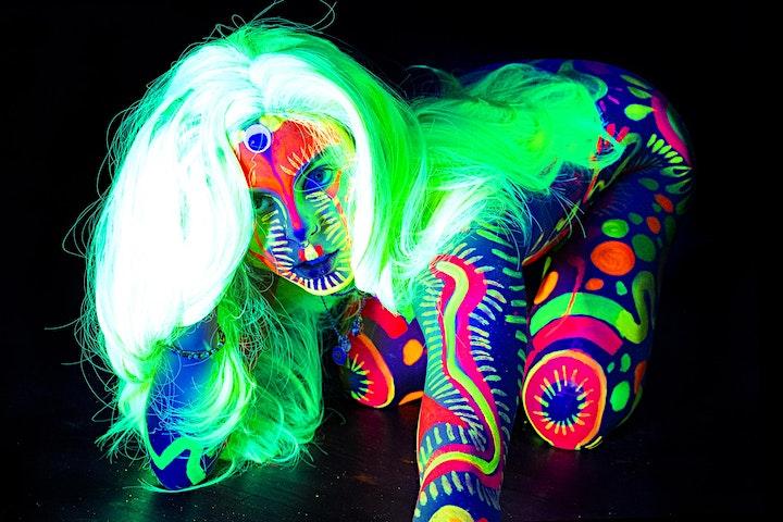 Neon Naked Life Drawing | BOXPARK | Wembley image