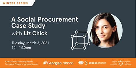 A Social Procurement Case Study with Elizabeth Chick tickets