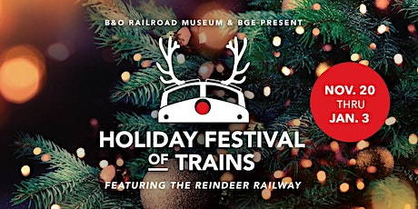 Reindeer Railway Evening Train Rides & Holiday Lights tickets