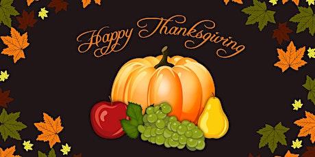 Thanksgiving Mass! boletos