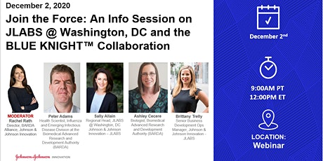 Join the Force: JLABS @ Washington, DC & the BLUE KNIGHT™ Collaboration tickets