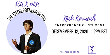 Nick Kovacich: The Entrepreneur in You tickets