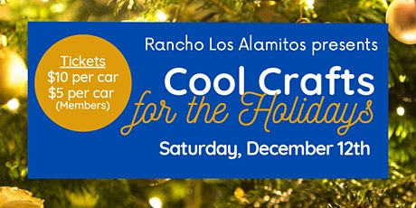 Copy of Cool Crafts for the Holidays tickets