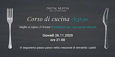 Corso di Cucina Digitale biglietti