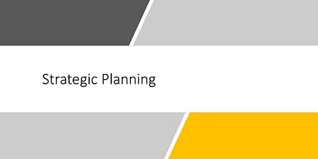 Strategic Planning - Online - N Seattle College tickets
